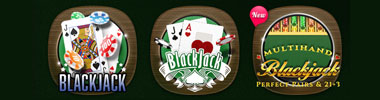 Blackjack games at 888casino