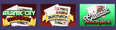 Blackjack games at MiamiClub Casino